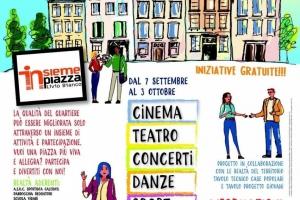 Ritroviamoci in piazza - Torino 30 settembre 2020, evento piazza Livio Bianchi