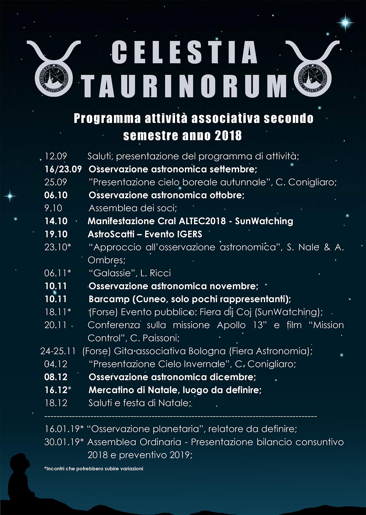 Programma attività 2018
