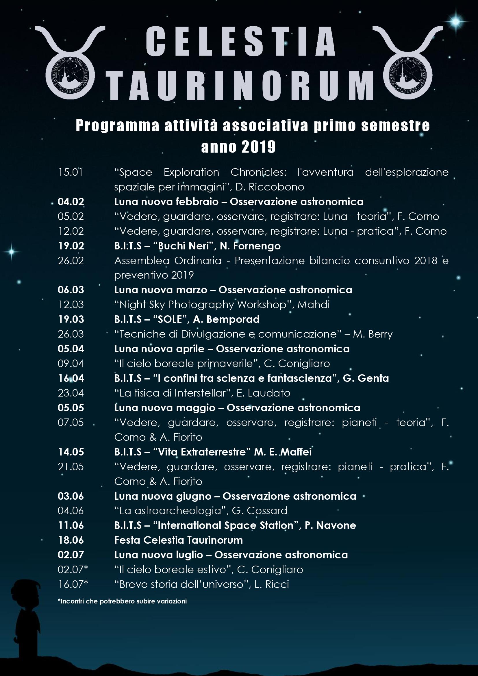 Programma attività 2019