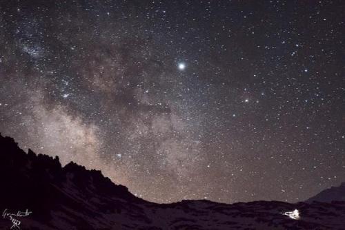 La Via Lattea dal Colle del Nivolet